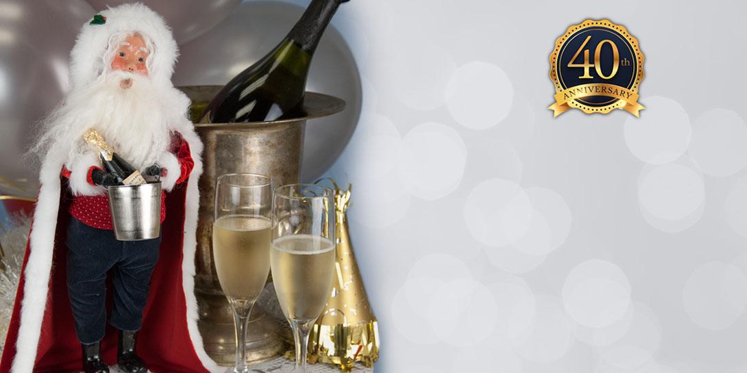 Byers' Choice Celebration Santa - 40 Years