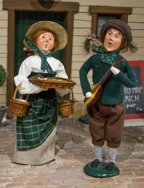 Irish Carolers