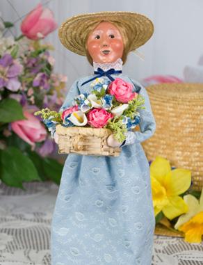Spring Flower Woman