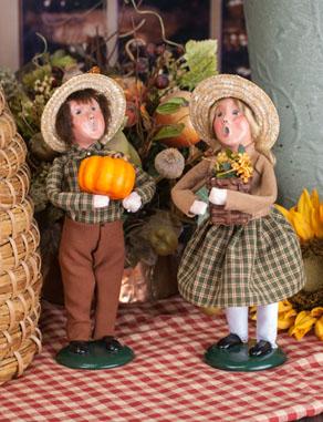 Autumn Boy and Girl