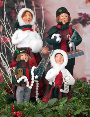 They Bailey Caroling Family