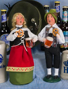 Oktoberfest Man and Woman
