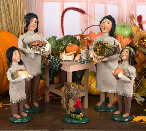 Home Of Byers' Choice Handcrafted Caroler Figurines And