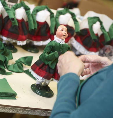 Byers Choice Carolers - How They're Made - Dressing
