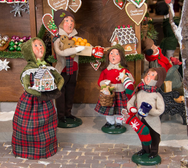 going to market specialty caroler designs